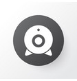 web camera icon symbol premium quality isolated vector image