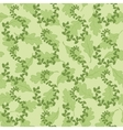 Seamless background with leaves vector image vector image