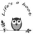 Hoot vector image