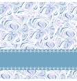 Light blue pattern with stripe vector image