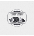 Mountain adventure and expedition insignia badges vector image