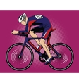 Summer kinds of sports Cycling vector image
