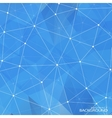 Geometric Triangular Abstract Blue Colors vector image