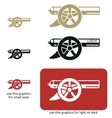 Cannon icon vector image