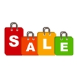 Sale Bag Concept of Discount vector image
