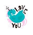 cute magic unicorn print ready childish label vector image