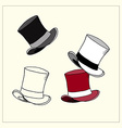 Top Hat vector image