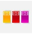 realistic design element countdown vector image