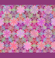 seamless abstract floral interesting pink pattern vector image