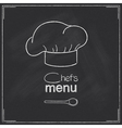 Restaurant Chefs menu design vector image