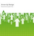 Design arrow up vector image