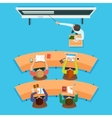 Education at school or university vector image