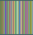 seamless bright colorful vertical lines background vector image