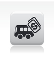 bus price icon vector image vector image