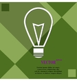 Light lamp icon symbol Flat modern web design with vector image