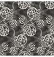 Seamless swirls background vector image