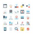 Network and Communications Icons 2 vector image