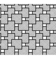 The pattern of squares checkered vector image