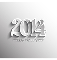 Decorative background for the New Year vector image
