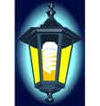 Night lantern vector image