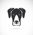 Dog Great Dane vector image vector image