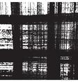 Distress Checkered Texture vector image