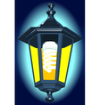 Night lantern vector image