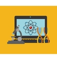 science related icons image vector image