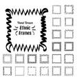 ethnic patterns or frames vector image