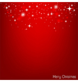 red christmas wallpaper for christmas card vector image vector image