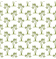 Palms pattern vector image