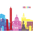 Bologna skyline pop vector image