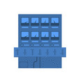 scientific electronic equipment icon vector image