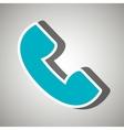 phone icon design vector image