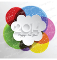 Abstract background design for the New Year vector image vector image