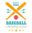 baseball grunge paint vector image