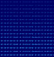 binary computer language monitor digits vector image