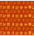 Seamless pattern with Peruvian Indians art vector image