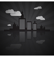 Night City Scape vector image