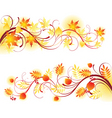 autumn banners2 vector image