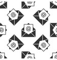 mail and e-mail icon seamless pattern envelope vector image