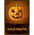 Halloween Jack OLantern vector image vector image