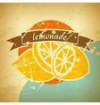 lemonade retro poster vector image