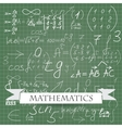 mathematics vector image