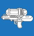 line water gun vector image