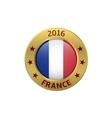 France 2016 label vector image