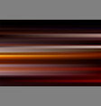 Red abstract speed motion blur of night lights in vector image
