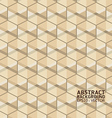 Modern box shape background - seamless vector image