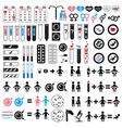 icons pregnancy and conception vector image