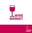 wine market vector image vector image